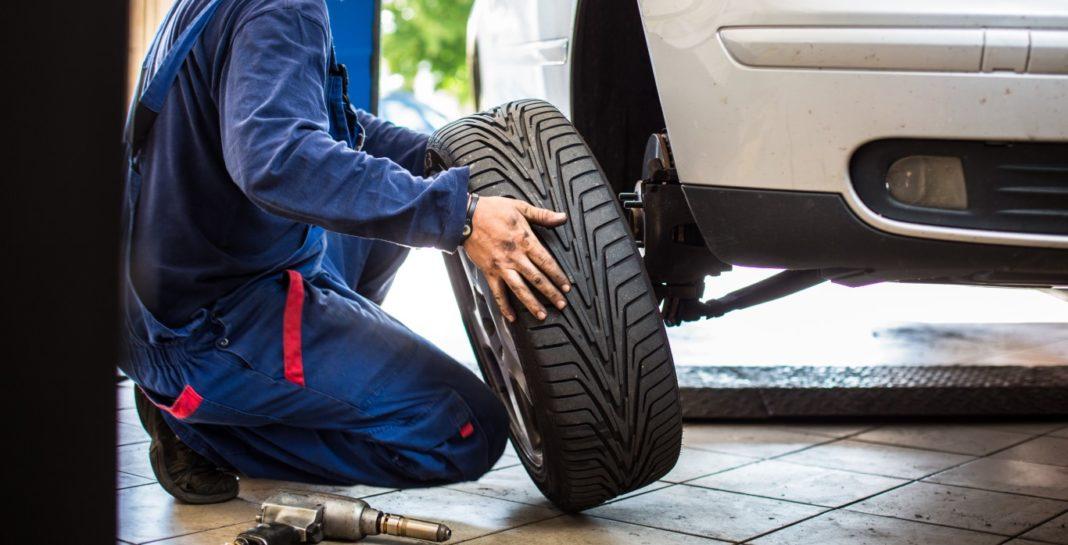 permuter les pneus de gauche à droite
