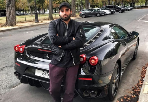 Akram Ojjeh Junior Ferrari